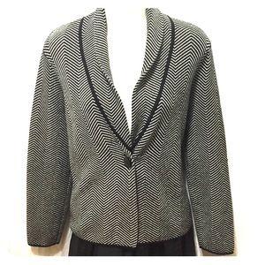 Knit blazer jacket Jones NY M